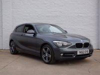 2012 BMW 1 SERIES 1.6 116I SPORT 3d 135 BHP £7988.00