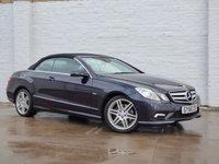 2010 MERCEDES-BENZ E CLASS 1.8 E250 CGI BLUEEFFICIENCY SPORT 2d AUTO 204 BHP £12450.00