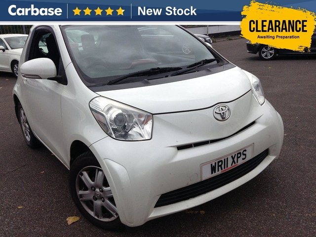View our 2011 11 TOYOTA IQ  1.0 VVT-i 3dr