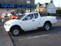 """USED 2009 09 MITSUBISHI L200 2.5 4LIFE CLUB DI-D 4WD LWB 1d 135 BHP ONLY 34000 MILES FROM NEW,""""NO VAT"""""""