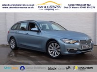 USED 2014 63 BMW 3 SERIES 2.0 320D MODERN TOURING 5d AUTO 181 BHP BMW History SAT-NAV Bluetooth Buy Now, Pay Later!