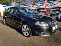 USED 2009 59 AUDI A3 1.9 TDI E SPORT 3d 103 BHP 0% FINANCE AVAILABLE ON THIS CAR PLEASE CALL 01204 317705.