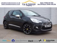 USED 2012 12 CITROEN DS3 1.6 E-HDI AIRDREAM DSPORT PLUS 3d 111 BHP Service History A/C Leather Buy Now, Pay in 2 Months!