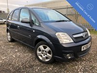 USED 2008 08 VAUXHALL MERIVA 1.8 DESIGN 5d 125 BHP Top of the Range Family MPV