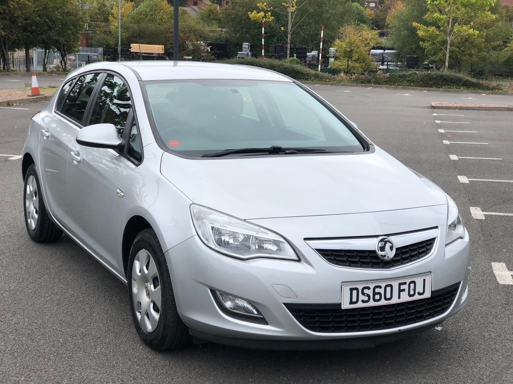 View our 2010 60 VAUXHALL ASTRA 1.4 i VVT 16v Exclusiv 5dr