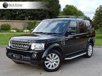 USED 2016 LAND ROVER DISCOVERY 4 3.0 SDV6 COMMERCIAL SE 1d AUTO 255 BHP 7 SEATER 7 SEATER CONVERSION
