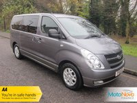 USED 2010 10 HYUNDAI I800 2.5 STYLE CRDI 5d 168 BHP Great Value Eight Seat Hyundai i800 with Air Conditioning, Sliding Rear Doors and Alloy Wheels