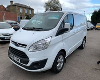 USED 2017 67 FORD TRANSIT CUSTOM 2.0 290 LIMITED LR P/V 1d 129 BHP IMMACULATE EURO 6