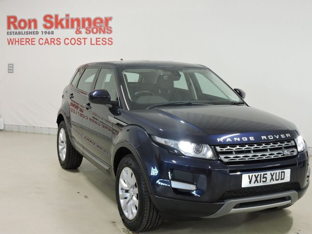 View our 2015 15 LAND ROVER RANGE ROVER EVOQUE 2.2 ED4 PURE TECH 5d 150 BHP
