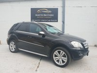 USED 2009 58 MERCEDES-BENZ M CLASS 3.0 ML320 CDI SPORT 5d AUTO 222 BHP