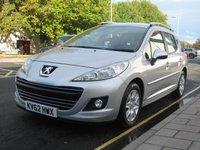 2012 PEUGEOT 207 1.6 HDI SW ACTIVE 5d 92 BHP £5150.00