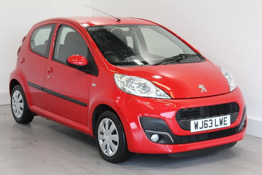 View our 2013 63 PEUGEOT 107 1.0 12v Active 5dr