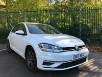2017 VOLKSWAGEN GOLF 1.6 SE NAVIGATION TDI BLUEMOTION TECHNOLOGY 5d 114 BHP £11995.00