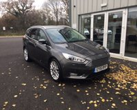USED 2015 15 FORD FOCUS 1.0 TITANIUM X ECOBOOST 125 BHP THIS VEHICLE IS AT SITE 2 - TO VIEW CALL US ON 01903 323333