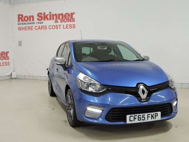 View our 2015 65 RENAULT CLIO 1.2 GT LINE NAV TCE 5d AUTO 120 BHP