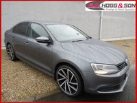 "USED 2013 VOLKSWAGEN JETTA 1.6TDI S BLUEMOTION TECHNOLOGY 4dr 104 BHP **£20 PER YEAR R/TAX** **19""ALLOYS AND PRIVACY GLASS**"