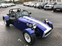 USED 1993 CATERHAM SUPER SPRINT SEVEN SUPER SPRINT 1700 Motorsport Blue with Silver Stripe, 155bhp dry sump crossflow. History file