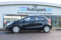 USED 2012 12 KIA RIO 1.2 2 5d 83 BHP LOW DEPOSIT OR NO DEPOSIT FINANCE AVAILABLE
