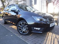 USED 2014 64 SEAT IBIZA 1.4 TSI ACT FR 5d 140 BHP FINANCE AVAILABLE***PART EXCHANGE WELCOME***£20 ROAD TAX***SAT NAV***CRUISE***AUX***CD***AIR CON***6 SPEED