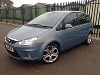 2008 FORD C-MAX 2.0 TITANIUM 5d 136 BHP ALLOYS PRIVACY LEATHER A/C SUNROOF FSH MOT 09/19 £2990.00