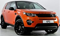 USED 2017 67 LAND ROVER DISCOVERY SPORT 2.0 TD4 HSE Black 4X4 (s/s) 5dr Auto Pan Roof, Reverse Cam, Sat Nav