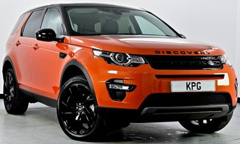 2017 LAND ROVER DISCOVERY SPORT 2.0 TD4 HSE Black 4X4 (s/s) 5dr Auto £34995.00