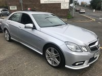 2009 MERCEDES-BENZ E CLASS 2.1 E250 CDI BLUEEFFICIENCY SPORT 4d 204 BHP £8995.00