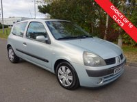 USED 2004 04 RENAULT CLIO 1.1 EXTREME 3 16V 3d 75 BHP