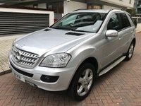 USED 2007 57 MERCEDES-BENZ M CLASS 5.5 ML500 SPORT 5d AUTO 383 BHP