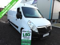 USED 2015 65 VAUXHALL MOVANO 2.3 R3500 L4H2 CDTI 135BHP JUMBO 1 OWNER FROM NEW  L4 H2 JUMBO IDEAL CAMPER CONVERSION