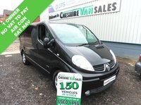USED 2012 62 RENAULT TRAFIC 2.0 SL27 SPORT DCI 115 BHP 1 OWNER FROM NEW NO VAT TO PAY  1 OWNER NO VAT AIR CON SAT NAV