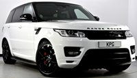 USED 2014 14 LAND ROVER RANGE ROVER SPORT 4.4 SD V8 Autobiography Dynamic 4X4 5dr Rear DVD's, Pan Roof, Stealth