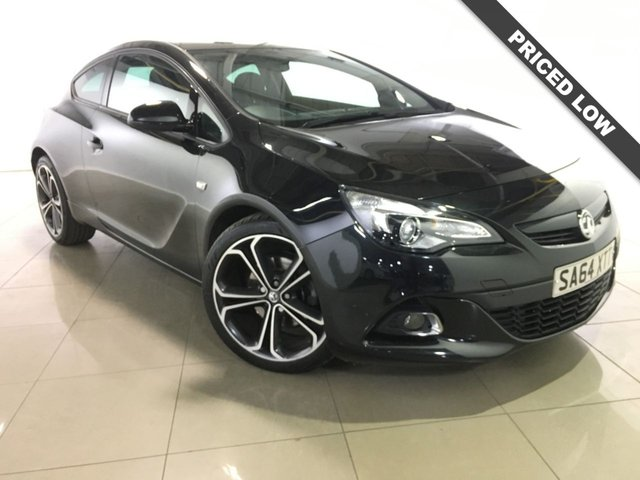 View our 2014 64 VAUXHALL ASTRA 2.0 GTC LIMITED EDITION CDTI S/S 3d 162 BHP