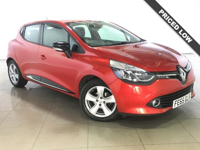 View our 2015 65 RENAULT CLIO 0.9 DYNAMIQUE NAV TCE 5d 89 BHP