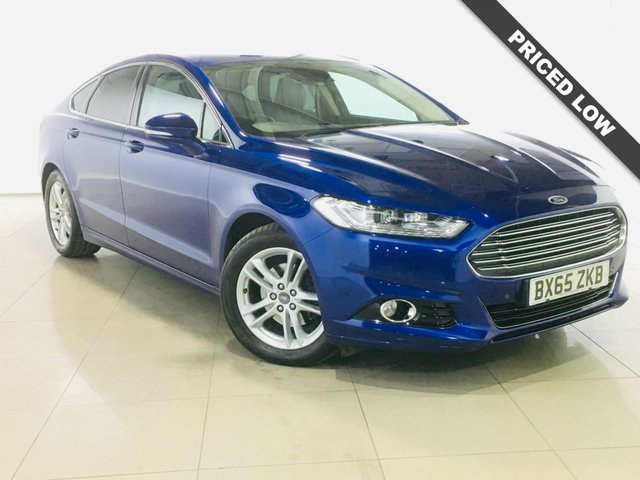 View our 2015 65 FORD MONDEO 2.0 TITANIUM NAV TDCI 5d 177 BHP