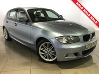USED 2010 60 BMW 1 SERIES 2.0 118D M SPORT 5d AUTO 141 BHP Part Leather/17 Alloy Wheels