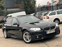 2014 BMW 5 SERIES 2.0 520D M SPORT TOURING 5d 188 BHP £10474.00