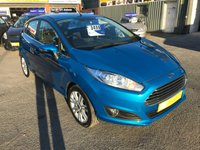 USED 2013 63 FORD FIESTA 1.0 ZETEC 5d 99 BHP IN METALLIC BLUE WITH 79500 MILES IN IMMACULATE CONDITION. APPROVED CARS ARE PLEASED TO OFFER THIS FORD FIESTA ZETEC IN METALLIC BLUE WITH ONLY 79500 MILES AND HAS A FULL SERVICE HISTORY SERVICED AT 29K,  46K, 65K, AND 76K. THIS IS A BEAUTIFUL VEHICLE THAT DRIVES SUPERB DUE TO THE LOW TAX THIS IS A PERFECT FIRST TIME DRIVER VEHICLE