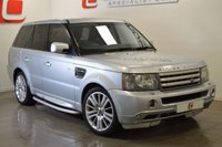 USED 2006 06 LAND ROVER RANGE ROVER SPORT 4.2 V8 S/C 5d AUTO 385 BHP SAT NAV + IMMACULATE ALLOYS + SERVICE HISTORY + RUNNER BOARDS