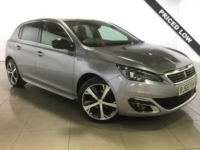 View our 2015 65 PEUGEOT 308 1.6 BLUE HDI S/S GT LINE 5d 120 BHP
