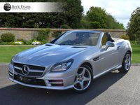 USED 2015 15 MERCEDES-BENZ SLK 1.8 SLK200 BLUEEFFICIENCY AMG SPORT 2d AUTO 184 BHP