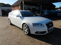 USED 2011 11 AUDI A6 2.0 AVANT TDI S LINE SPECIAL EDITION 5d 168 BHP XENONS,LEATHER,HEATED SEATS,CRUISE,SAT NAV,BLUETOOTH