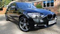2014 BMW 1 SERIES 1.6 116I SPORT S/S 5dr £9995.00