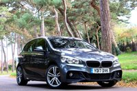 2017 BMW 2 SERIES 2.0 220D XDRIVE M SPORT ACTIVE TOURER 5d AUTO 190 BHP £19950.00
