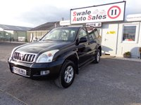 USED 2005 05 TOYOTA LAND CRUISER 3.0 LC4 8-SEATS D-4D AUTO 164 BHP