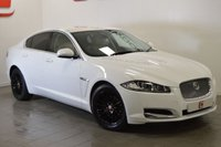 USED 2011 61 JAGUAR XF 2.2 D LUXURY 4d AUTO 190 BHP LOW MILES + SERVICE HISTORY + BEST COLOUR WITH BLACK WHEELS