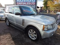 USED 2006 06 LAND ROVER RANGE ROVER 2.9 TD6 VOGUE 5d AUTO 175 BHP SUNROOF, BIEGE LEATHER INTERIOR, GREAT VALUE 4X4