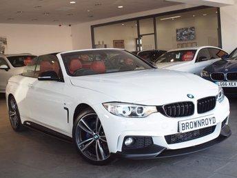 2015 BMW 4 SERIES 2.0 420D M SPORT 2d AUTO 188 BHP £19990.00