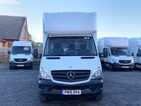 USED 2015 15 MERCEDES-BENZ SPRINTER 2.1 313 CDI LWB LUTON TAIL LIFT FACELIFT TAIL LIFT, FACELIFT LUTON, ONE OWNER, FULL DEALER HIST