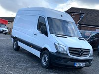 USED 2014 64 MERCEDES-BENZ SPRINTER 2.1 316 CDI MWB 163 BHP FACELIFT RARE 316, MWB, FACELIFT, ONE OWNER, FULL DEALER HISTORY